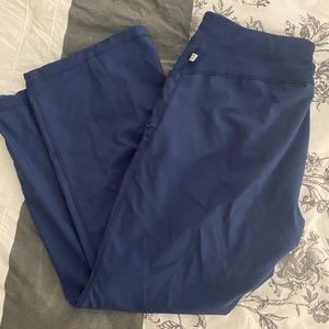 Navy Cherokee Infinity Scrub Pants